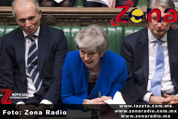 El Parlamento ratifica a Theresa May como primera ministra